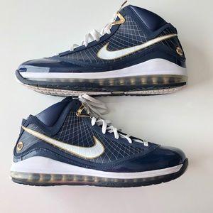 Nike Air Max LeBron 7 University Akron Basketball